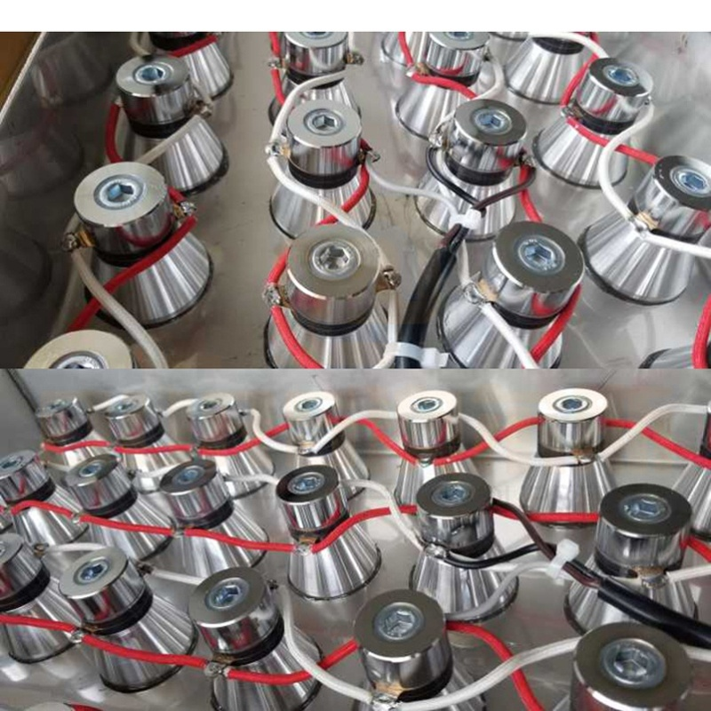 High Intensity And Efficiency Immersible Ultrasonic Transducer Pack Industrial Cleaning Transducer Equipment With Cleaner Power