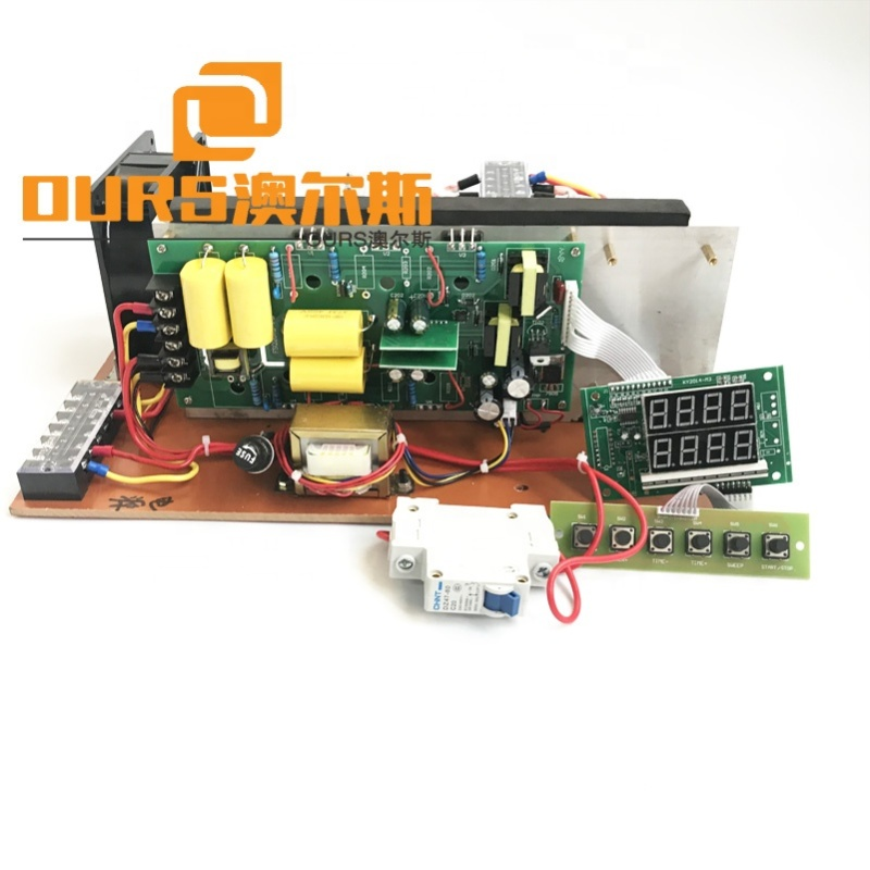 1500W PCB cleaning generator 22-42khz Ultrasonic frequency and current adjustable