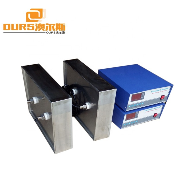 25KHz 1800W Ultrasonic Immersible Transducer Pack SUS316 Waterproof Ultrasonic Transducer Box