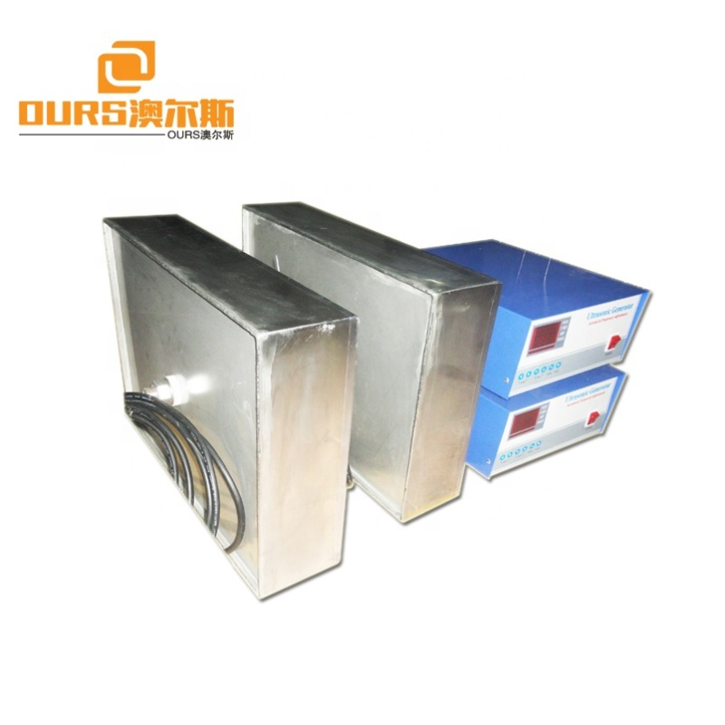 2000W Ultrasonic cleaning machine shock box, immersed ultrasonic vibration plate factory direct sales