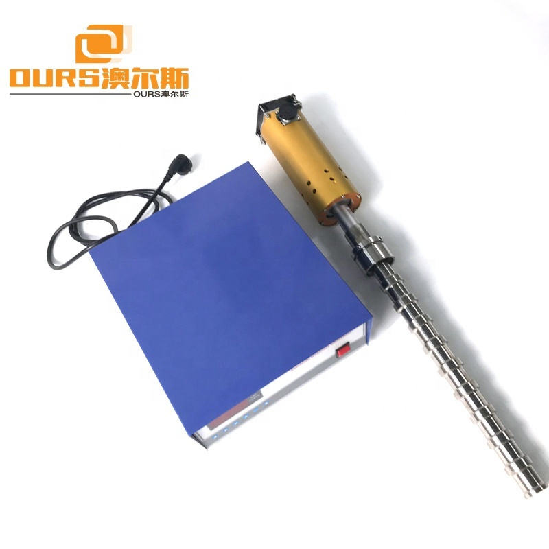 20KHz Ultrasonic Probe For Industrial Liquid/Powder Mixing Equipment Ultrasonic Homogenizer
