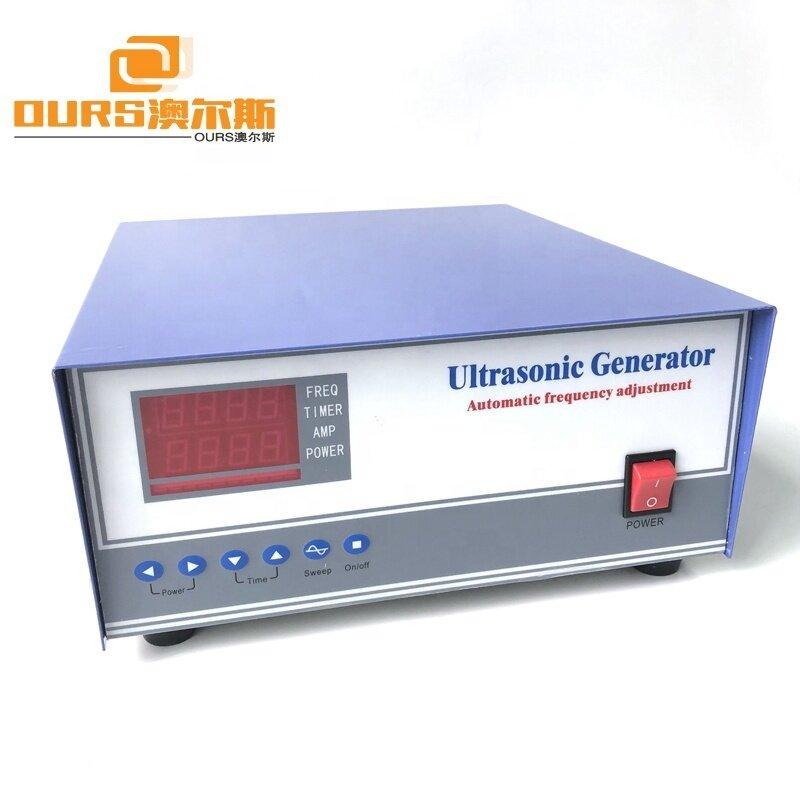 Frequency And Power Adjustable Digital Ultrasonic Piezoelectric Generator 1800W Ultrasonic Cleaner Generator