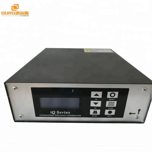 15KHZ2000W High power Ultrasonic plastic welding digital generator for Non-woven fabrics Toothpaste shell