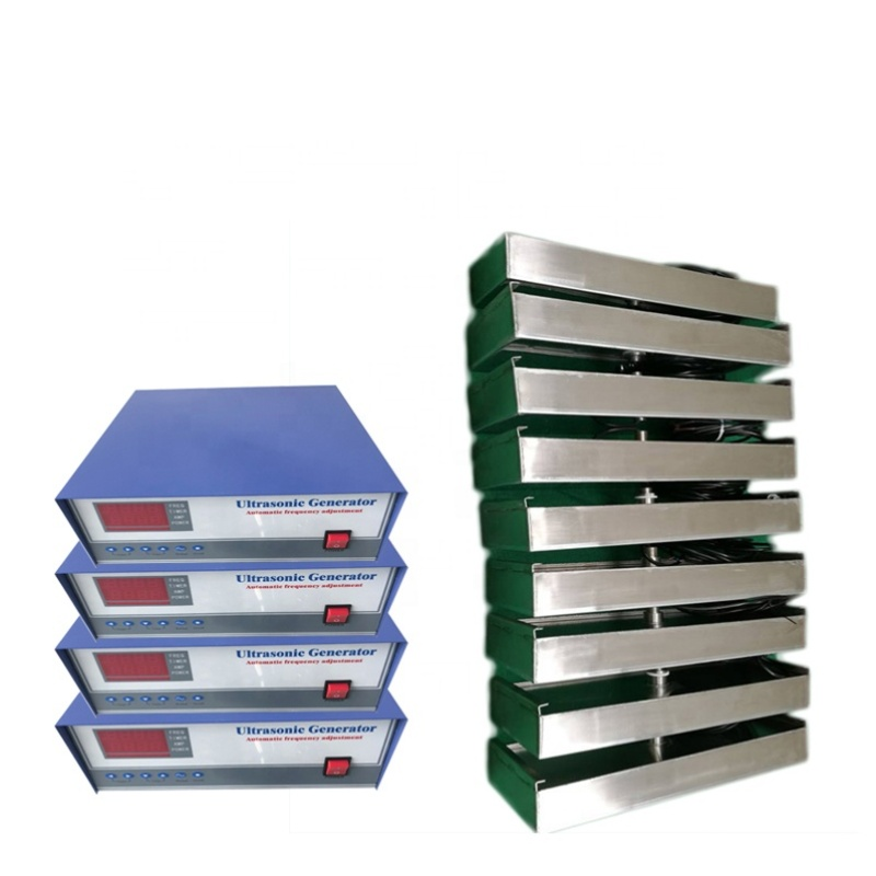 135KHz High Frequency 1000W Submersible Ultrasonic Transducer Vibration Plate With Generator