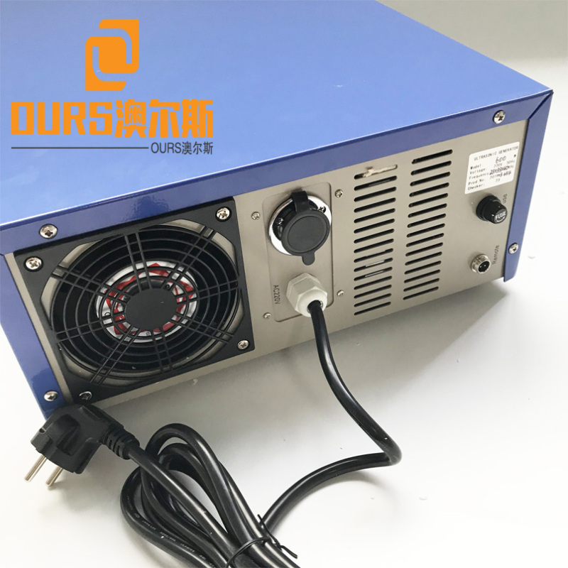 25KHZ/45KHZ/80KHZ 1200W Multi Frequency Ultrasonic Generator Power Supply For Ultrasonic Cleaner Parts