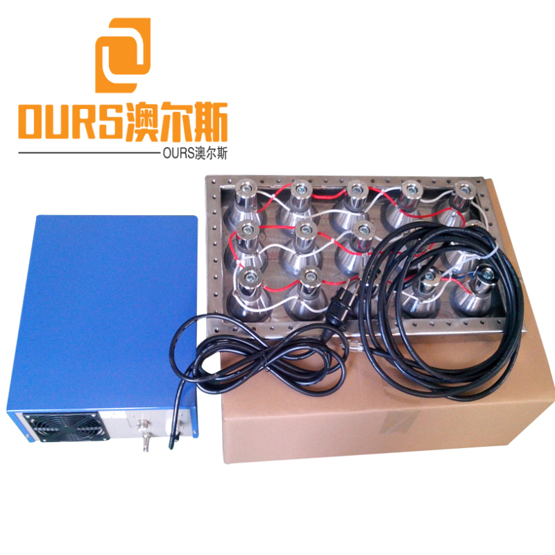 50KHz 1200W High Frequency Sweep Generator Control Immersible Ultrasonic transducer