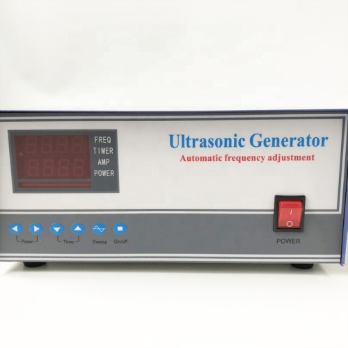 High Frequency 80K Factory Ultrasonic Generator Cleaning Transducer Generator With Power And Time Adjustable For Cleaner Bath