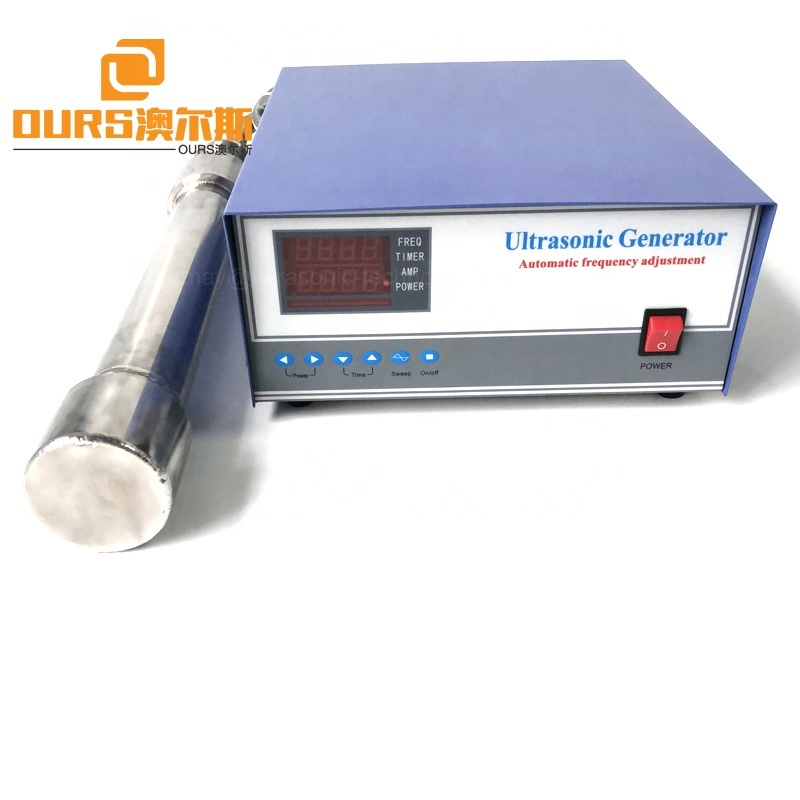 Stainless Steel 1000W  Tubular Reactor Used In Equipment Tank Ultrasonic Cleaning Or Refinement Of Scavenge Oil And Palm Oil
