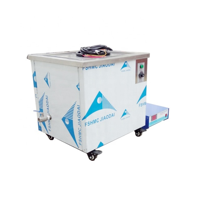 100L Industrial Ultrasonic Engine Cleaner For Motor Cylinder Head Washing 28K Vibration Frequency Ultrasonic Cleaning