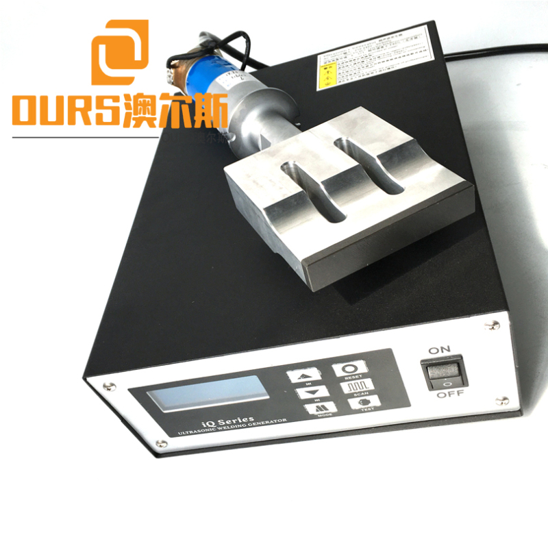Factory Supply 20KHZ 2000W China Manufacturer Automatic Face Mask Welding generator and horn