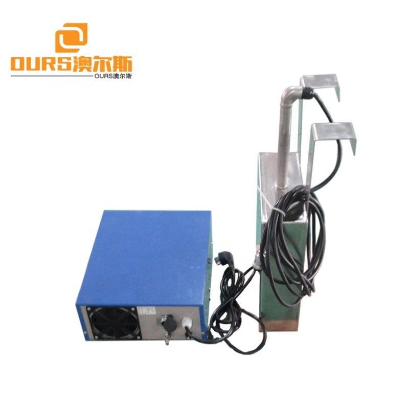 1800W Frequency Adjustable Immersible Ultrasonic Transducer For Ultrasonic Cleaning  ultrasound generator