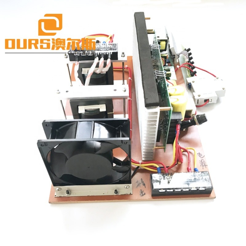 600W-3000W Different Power Cleaner Ultrasonic Generator PCB Transducer Vibration Wave Ultrasonic Generator With Sweep Function