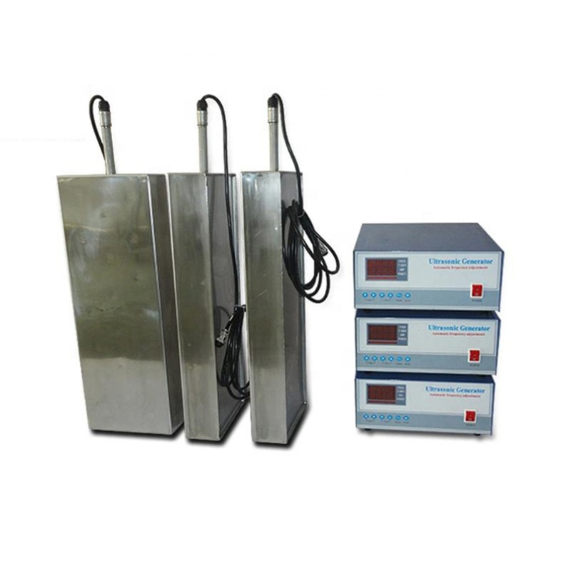 Factory Customized Industry Ultrasound Immersible Transducer Pack Waterproof Ultrasonic Vibration Cleaning Machine