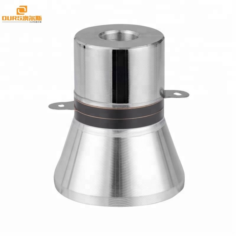 28Khz 60W submersible underwater ultrasonic transducer for plating components cleaning