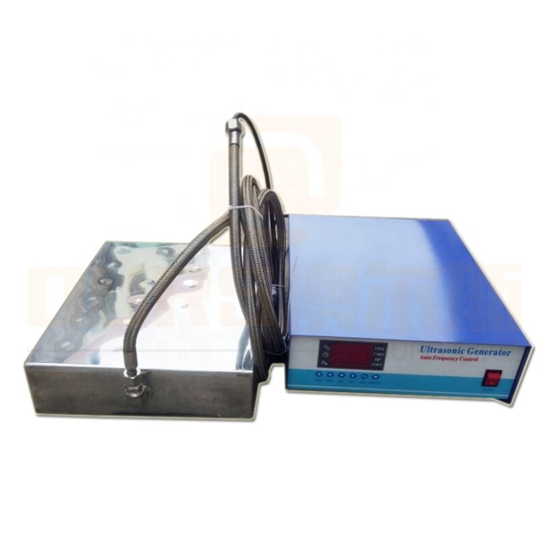 130K Ultrasonic High Frequency Vibrator Board Cleaner Ultrasonic Immersion Transducer And Power For Precision Parts Cleaning