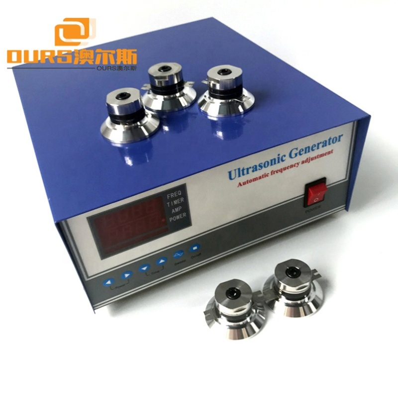 Factory Supply 17KHz 20KHz 25KHz 28KHz 33KHz 35KHz 40KHz Ultrasonic Power Adapter Cleaning Machine