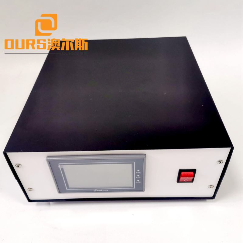 2600w 20khz and transducer with horn 110*20mm for 3-ply-Face-Mask-Disposable  ultrasonic welding machine