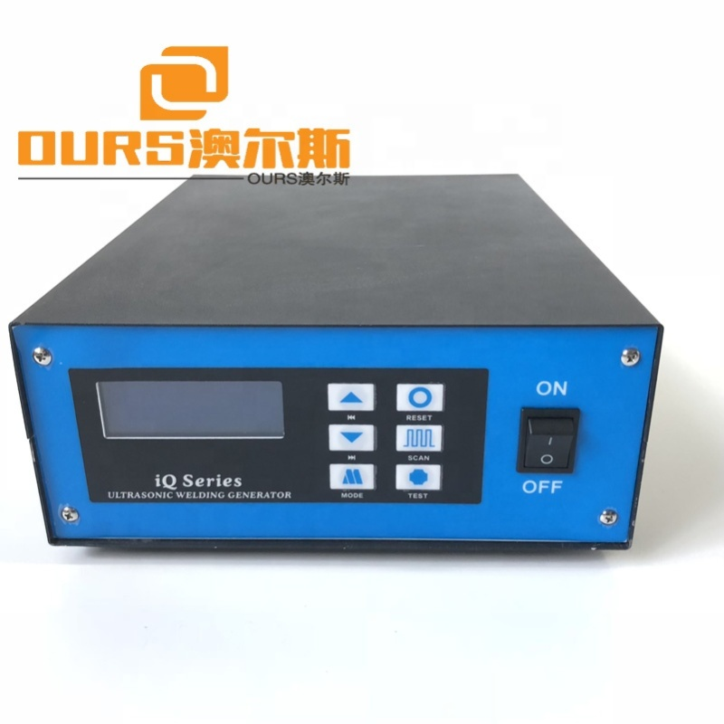 300W 30K Power Supply For Plastic Cutting Machine Ultrasonic Welding generator With Transducer And Tool Head