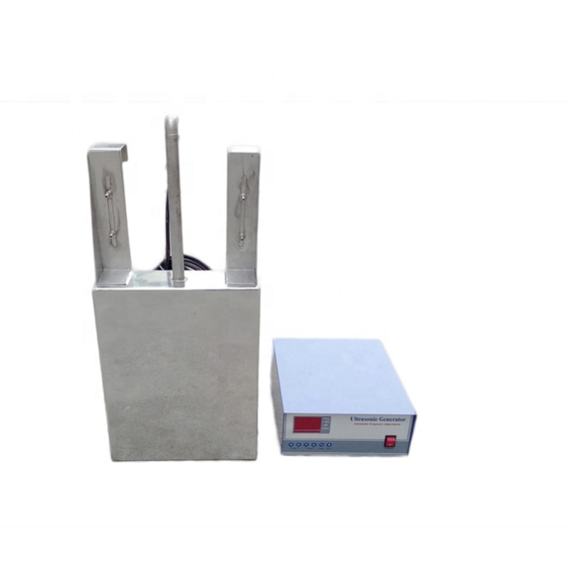 Industrial Workshop Ultrasonic Cleaning Equipment Ultrasonic Immersible Transducer Pack With Ultrasonic Cleaner Generator