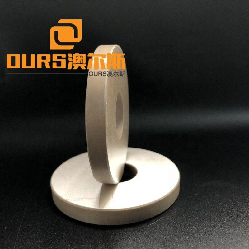 50x17x6mm Ultrasonic Vibrator Raw Material Piezoelectric Ceramic Ring Type Ultrasound Piezo Ceramic/Wafer