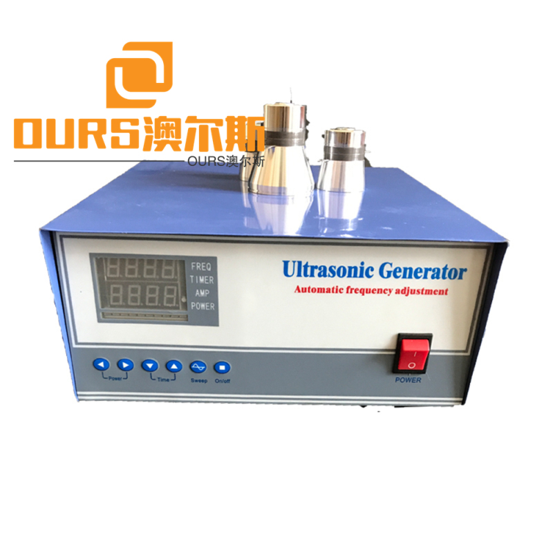 1800w 28khz Variable Frequency Ultrasonic Generator with Timing Function and PLC Remote Control