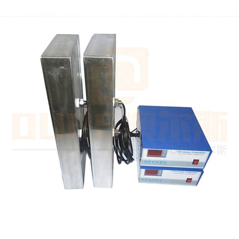 Low Frequency 20K 2000W Industry Ultrasonic Radiator Box/Immersible Ultrasonic Cleaning Pack With Ultrasonic Generator