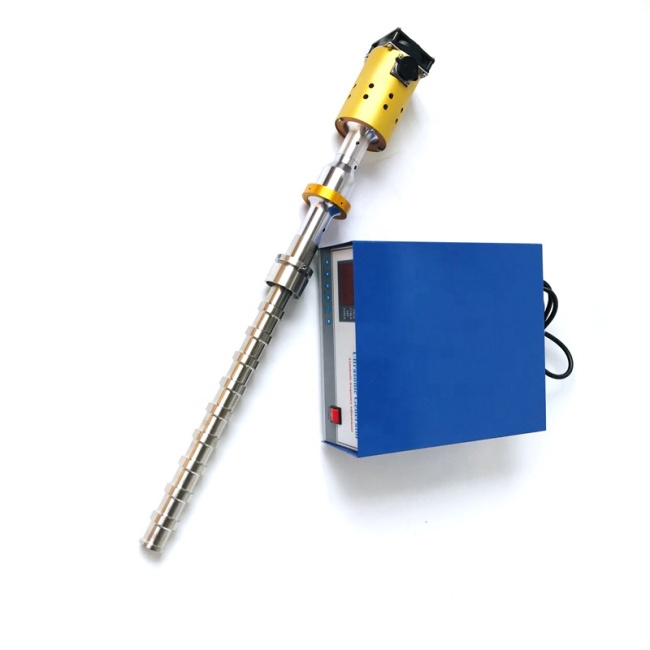 ARS-HLCSB2000 Titanium Ultrasonic Probe With Generator Used For Processing Restaurants Waste Vegetable Oil
