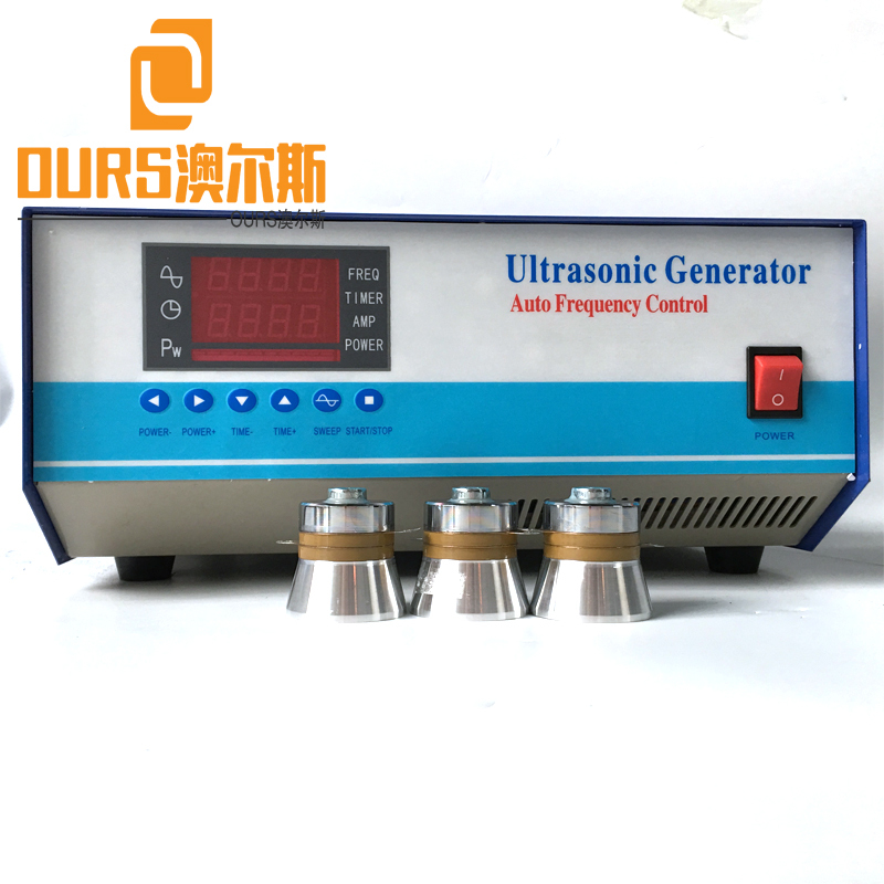 1000W 125KHZ High Frequency Ultrasonic power supply for ultrasonic transducer