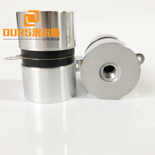 60w High Frequency  120khz Piezo Transducer Ultrasonic Transducer for Cleaning Machine