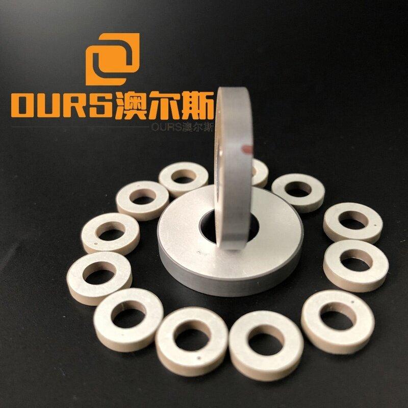 Piezoelectric  Material Industrial PZT4 25x10x4MM Ultrasonic Piezo Ring Piezo Ceramic