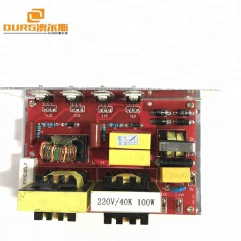 120w 40khz manufacturer Ultrasonic Generator  PCB  with 2 transducers for sale