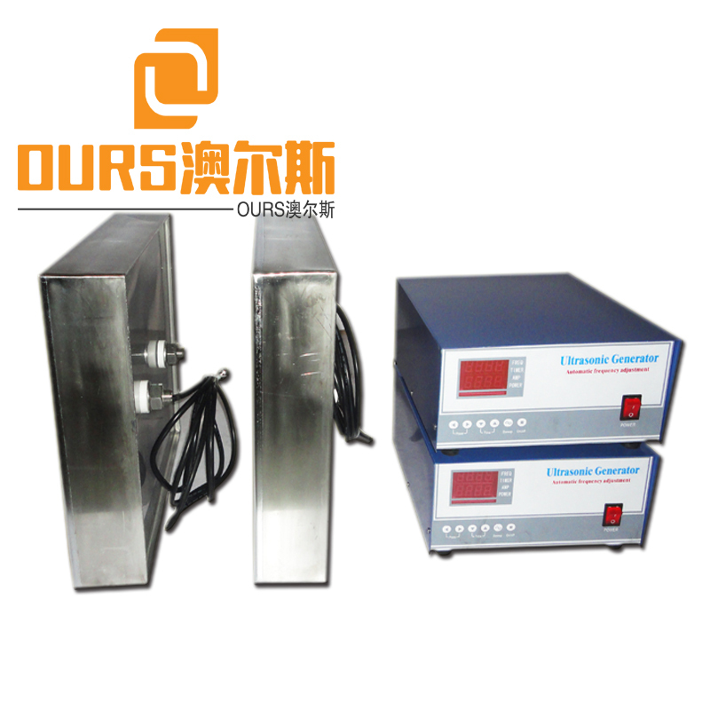 28K 40K 2400W Industrial Immersible Ultrasonic Transducer Pack With Ultrasonic Generator