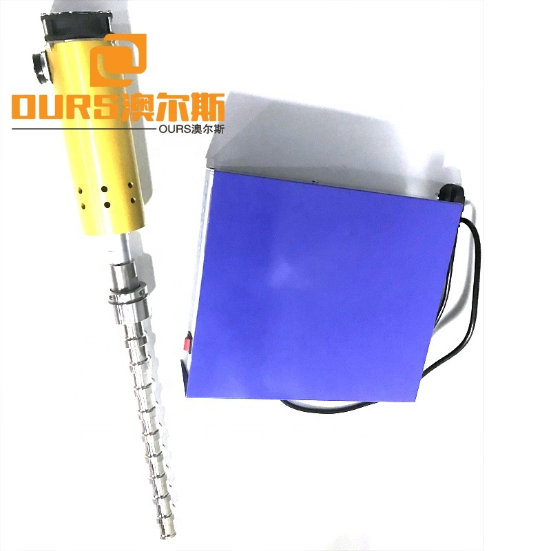 20KHZ Ultrasonic Rod Transducer 1500W Biodiesel Ultrasonic Transducer For Cleaning Waste Cooking Oil/Motor Oil