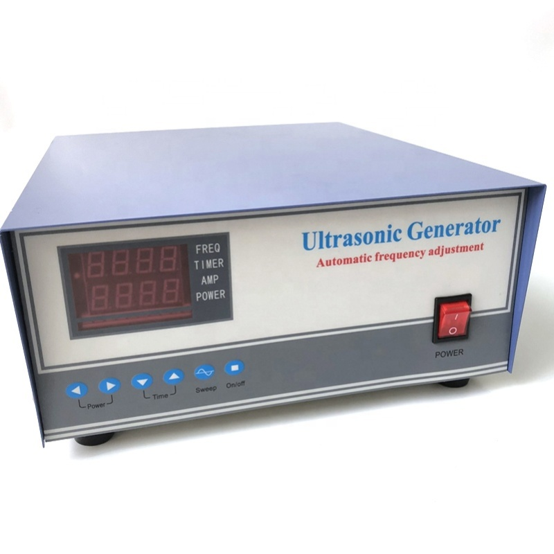 High Frequency Ultrasonic Pulse Wave Generator Cleaning Ultrasound Generator 135K 1200W As Piezoelectric Transducer Power Supply