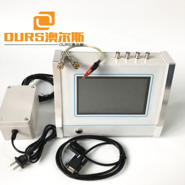 1KHZ-50KHZ Ultrasonic Testing Instrument Piezoelectric Transducer Impedance Resonant Frequency Analyzer