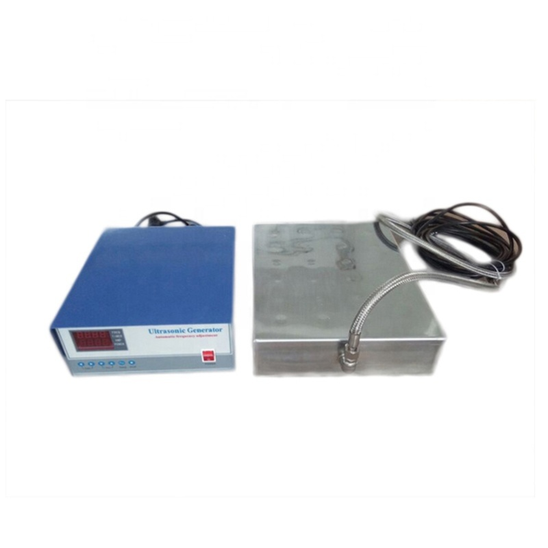 Low Cost SUS316 Waterproof Ultrasonic Cleaning Goods Immersible Ultrasonic Transducer Pack And Cleaning Generator 1500Watt