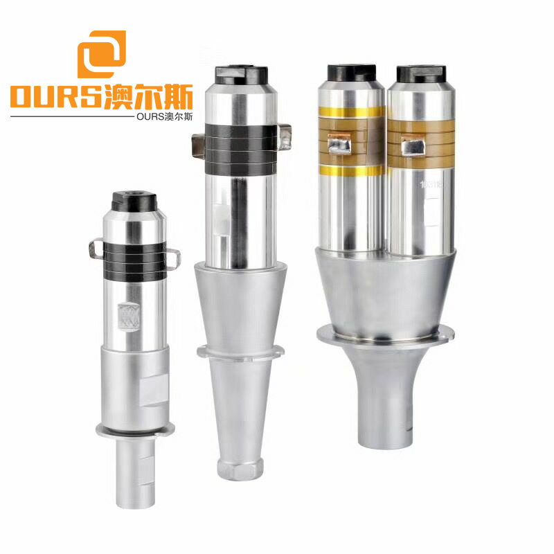 20KHZ Plastic Welding Piezoelectric Ultrasonic Transducer With Booster