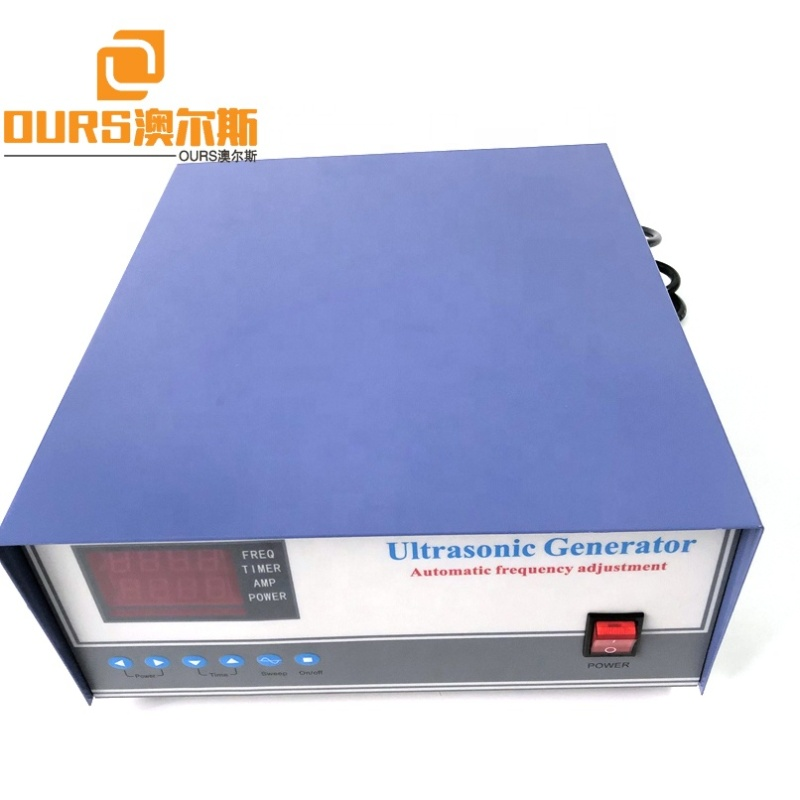 Automatic Tracking Type 1200W Ultrasonic Generator Mechanical Ultrasonic Cleaning Goods Driver Sweep Frequency Cleaner Generator