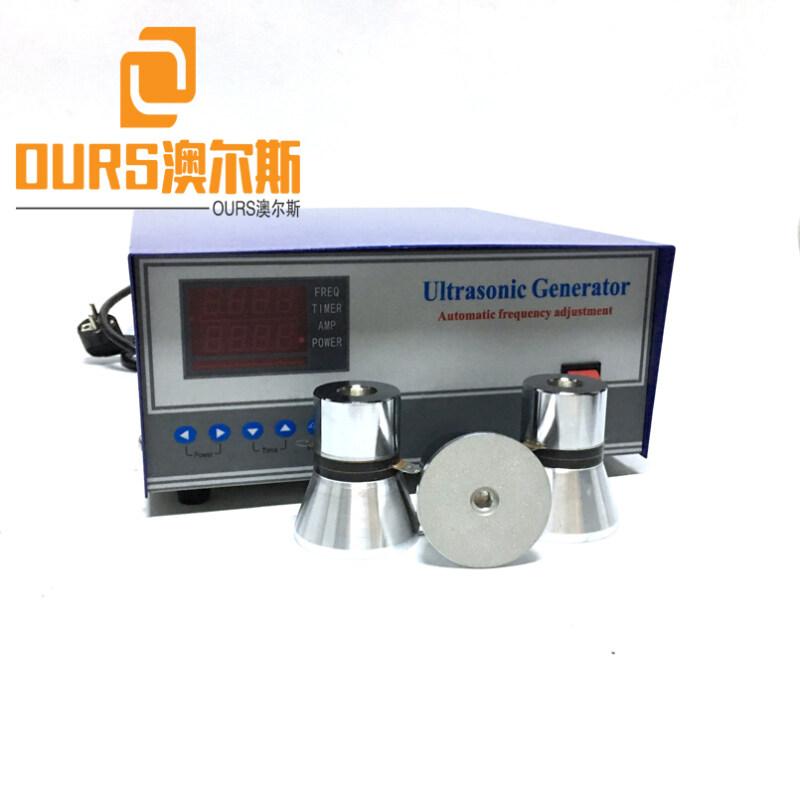 1800w Digital Ultrasonic Cleaning Sensor Generator For Electroplating Ultrasonic Vibration Plate
