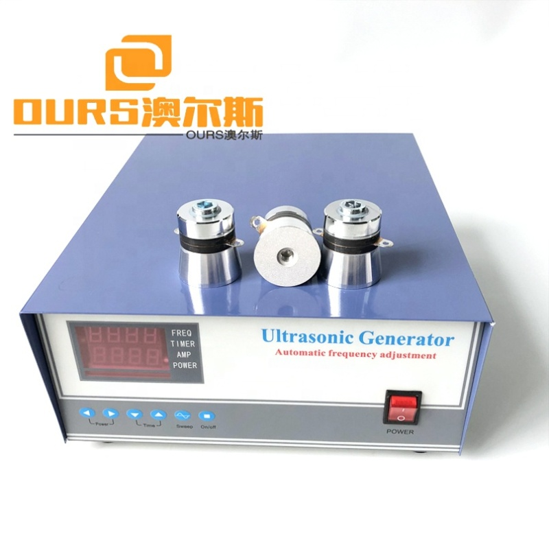 1000W Frequency/Time Adjustable Power Ultrasonic Driver Circuit Industrial Cleaner Tank Power Controller Ultra Signal Generator