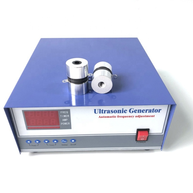2400W Ultrasonic Generator High Power Signal Generator 28KHz/40KHz Ultrasonic Industrial Generator For Auto Parts Cleaning