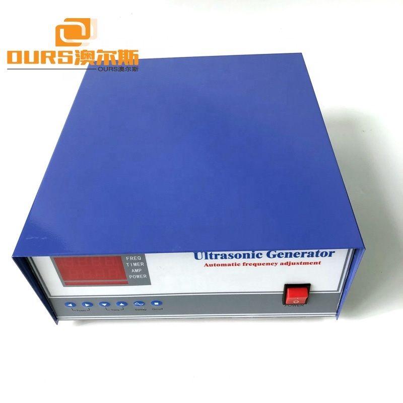 28KHz/40KHz Ultrasonic Cleaning Generator For Ultrasonic Cleaning Machine With Timer And Temperature Controller