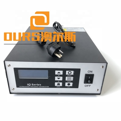 Factory Wholesale 35K Spot Ultrasonic Face Mask Welding Generator And Converter Ear Loop Welding Machine