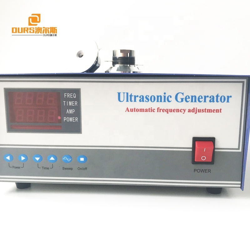 28KHZ1500W piezoelectric ultrasonic transducer drive generator for cleaning machine
