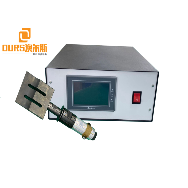 2000w Ultrasonic Welding Transducer 20Khz with 110*20mm horn Professional for Face Mask Machine