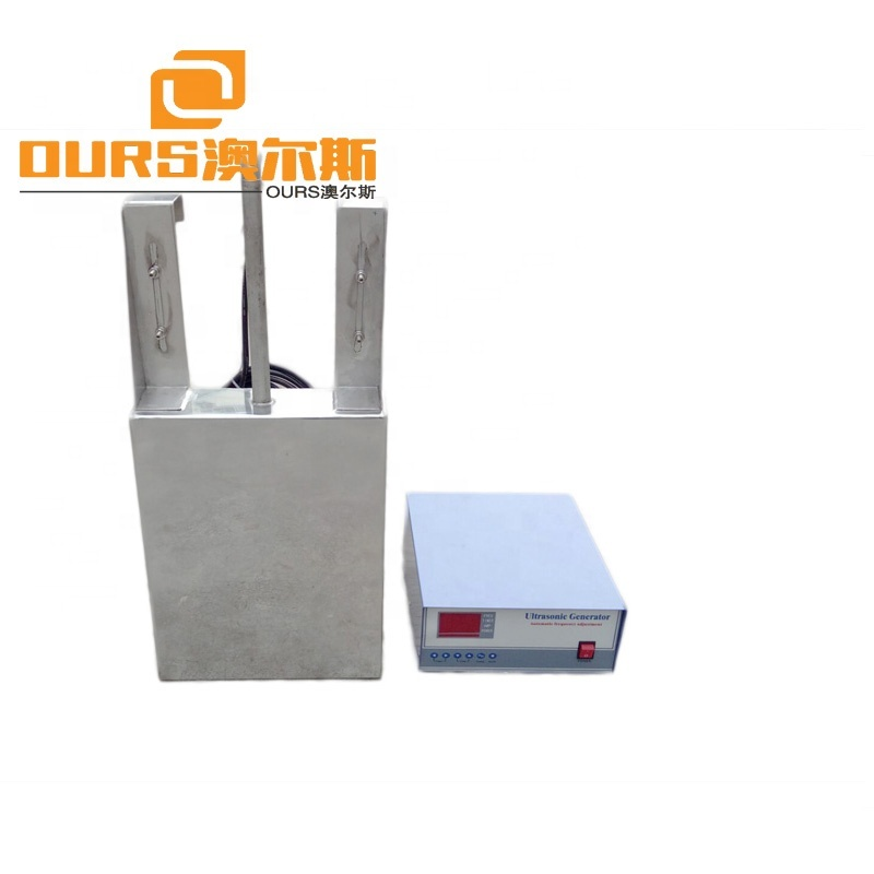 1800W 40k/28k High Power stainless steel  ultrasonic Immersible Transducer Machine for Industrial Ultrasonic Shock Board