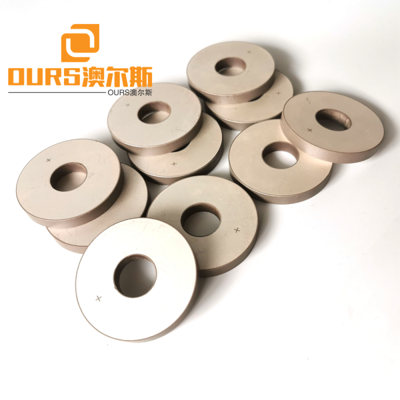 50x17x6.5mm Piezoelectric Element pzt 8 or pzt 4 Piezo Ceramic Ring for Ultrasonic Cleaning Machine