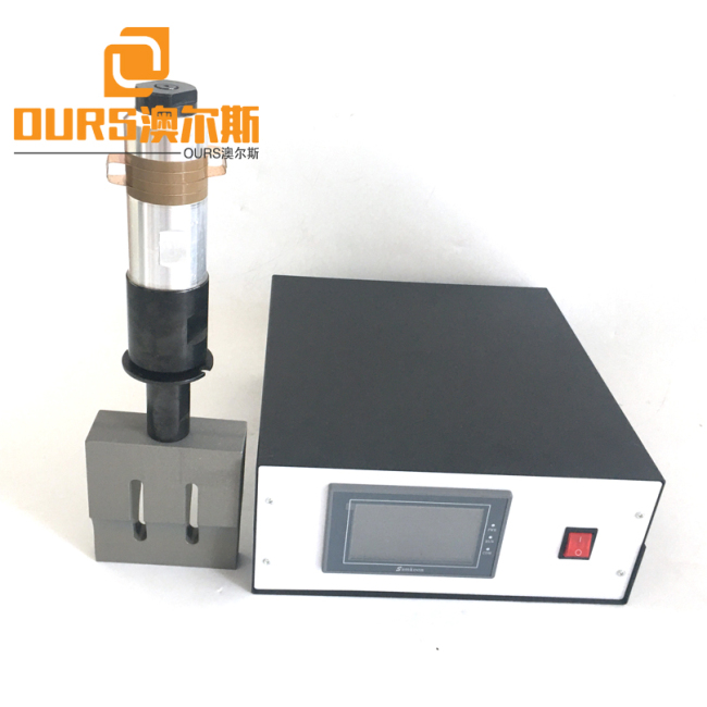 Display Ultrasonic Welding Generator With Transducer For 15K 20K Non-Woven Mask Ultrasonic Welding Machine