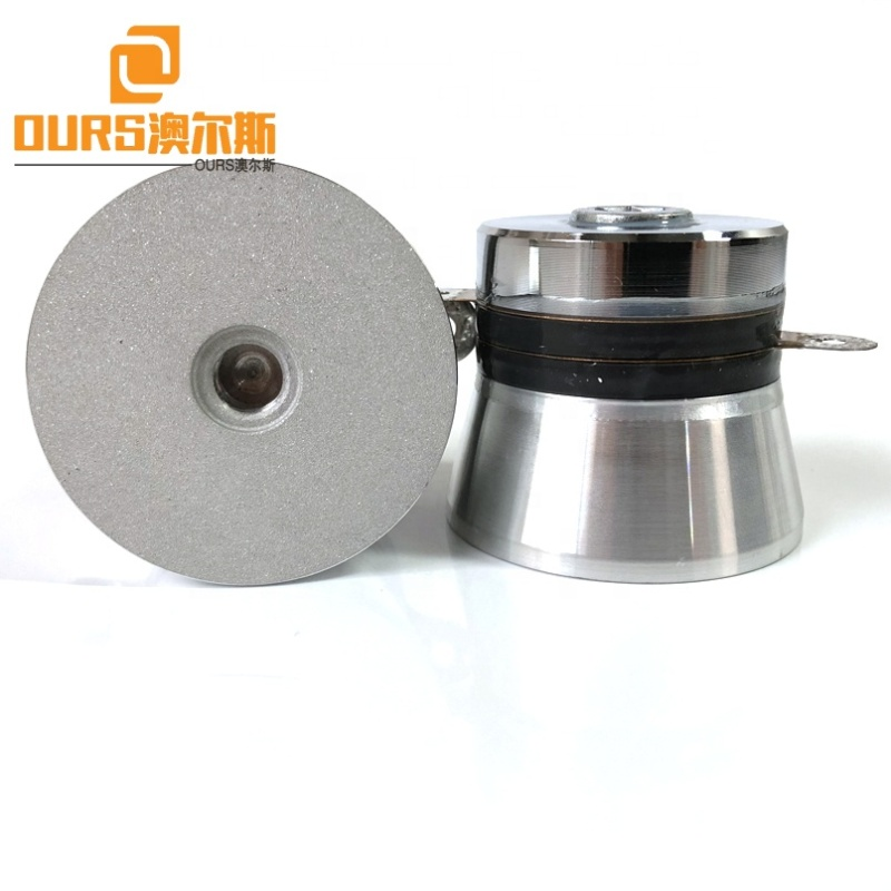 Piezoelectric Cleaning Sensor 40K 100W Ultrasound Cleaner Wave Transducer PZT4 Material Industrial Cleaning Transducer With CE