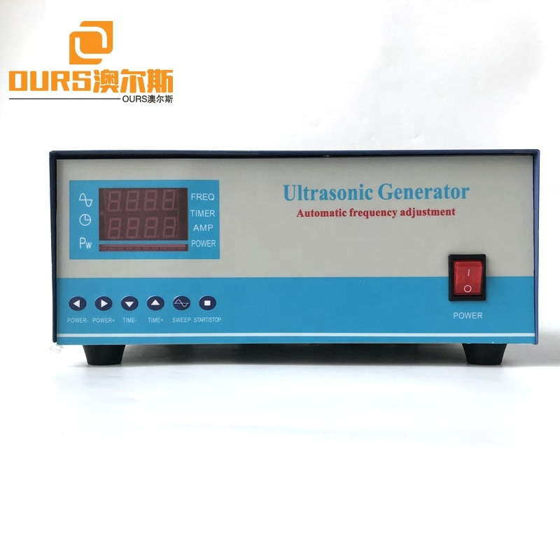 28K 3000W Digital Display Ultrasonic Cleaning Generator With Power Adjustable For Transducer Ultrasonic Cleaner